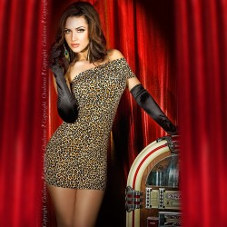 DRESS CR-3322 LEOPARD
