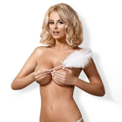 OBSESSIVE A716 FEATHER TICKLER WHITE